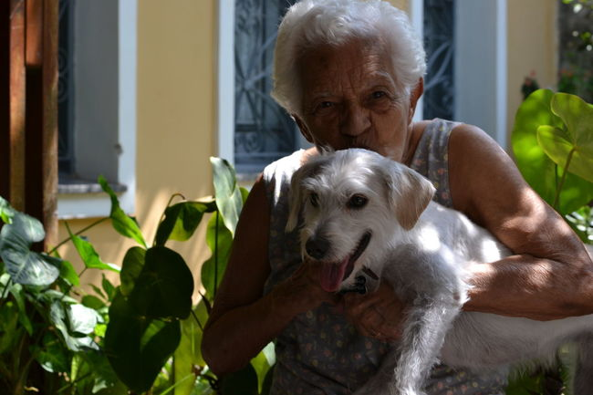 My grandmother and her great-granddaughte Mydog Gaia Maria Doglover Lovely Dog Dog Lover Dogs Of EyeEm Dog Love GaiaMaria Dogslife Doglovers