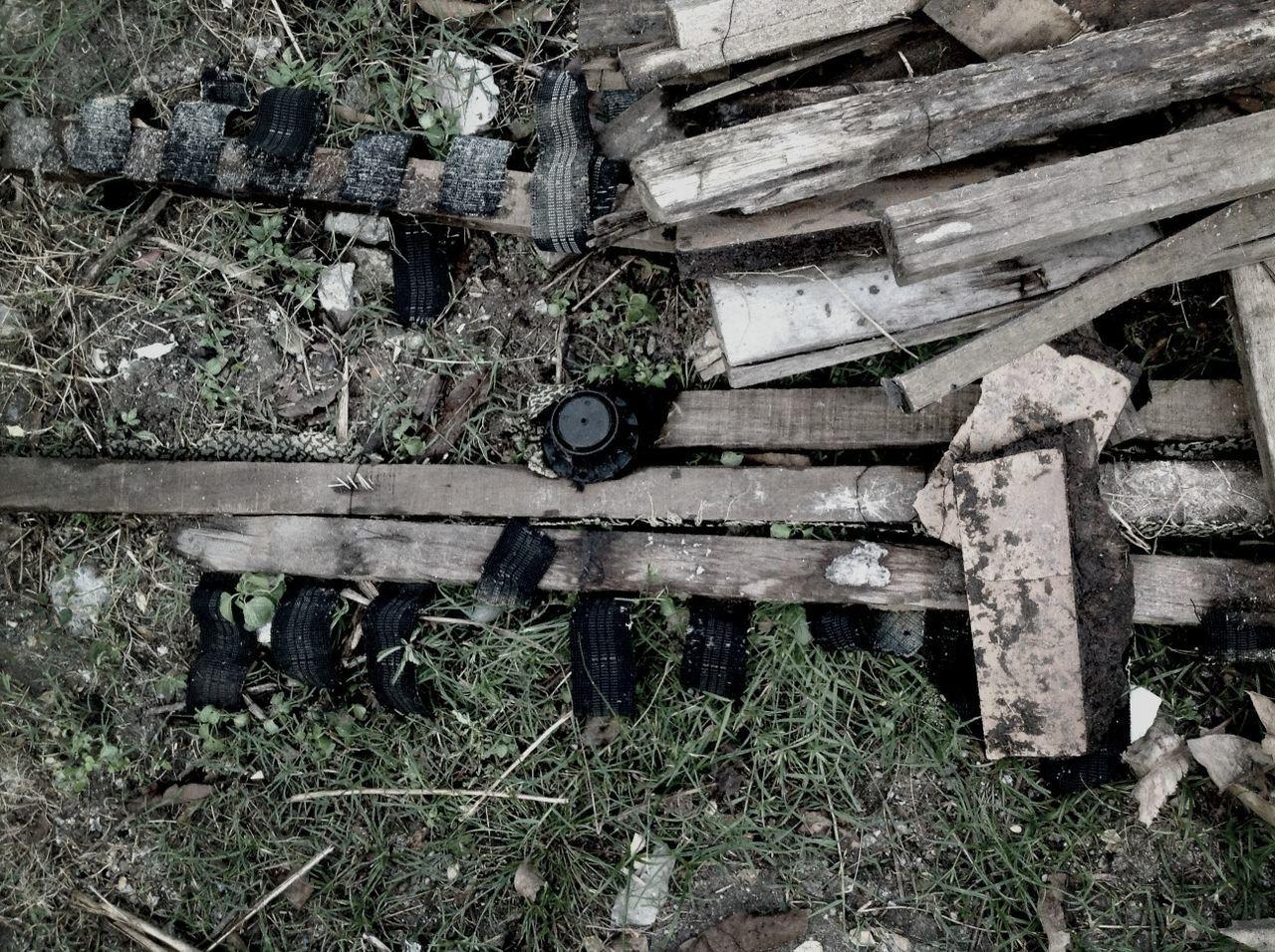 Pile Of Wooden Scraps
