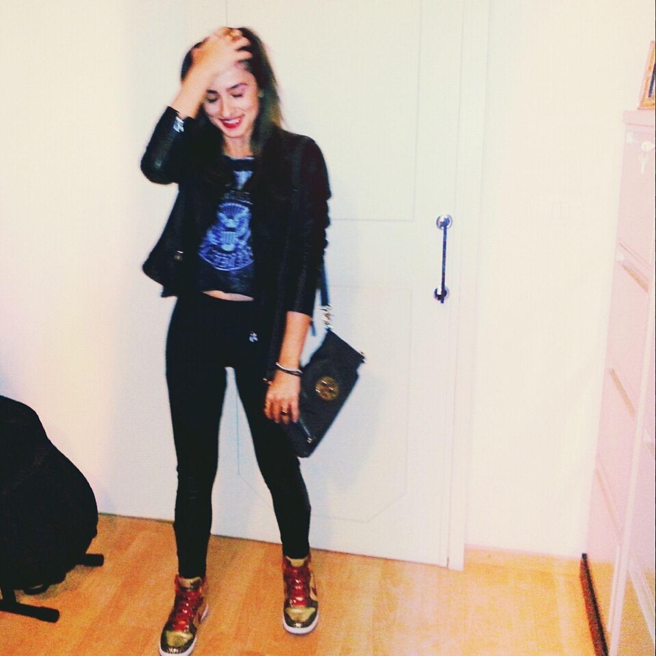 In black clothes we trust Amen Ootd Today's Hot Look
