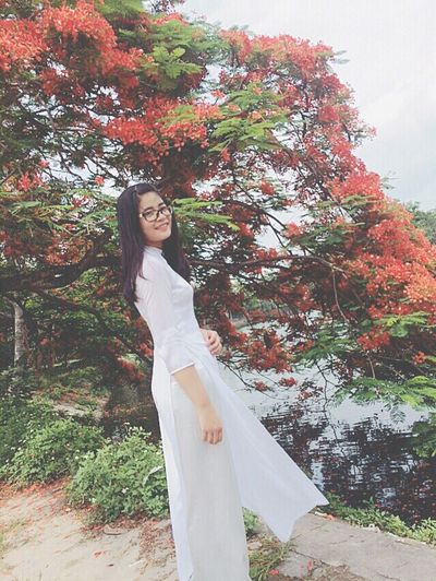 AodaiVietNam ❤️ Ilikeit Traditional Clothing Vn Youth Hoaphuong Hoctro