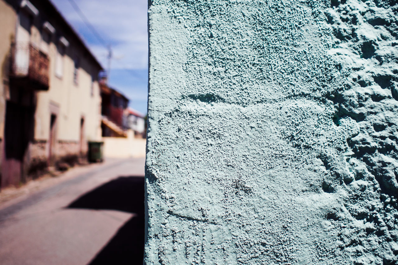 streets of portugal Architecture Building Exterior Built Structure Close-up Day No People Outdoors Sky Summer Textured