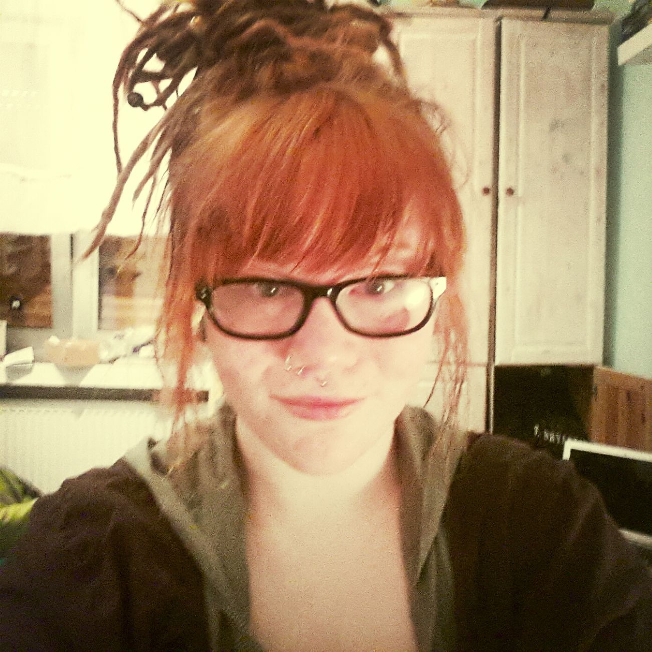 Orange Dreads :)
