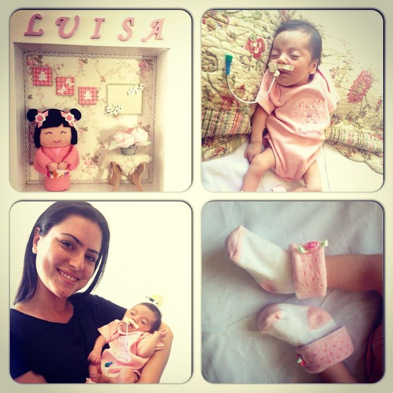 E hj foi o dia de conhecer a baby da Mel! Essas minhas amigas se tornando mãe tão me orgulhando demaaaais! Babygirl Luisa Babyda25