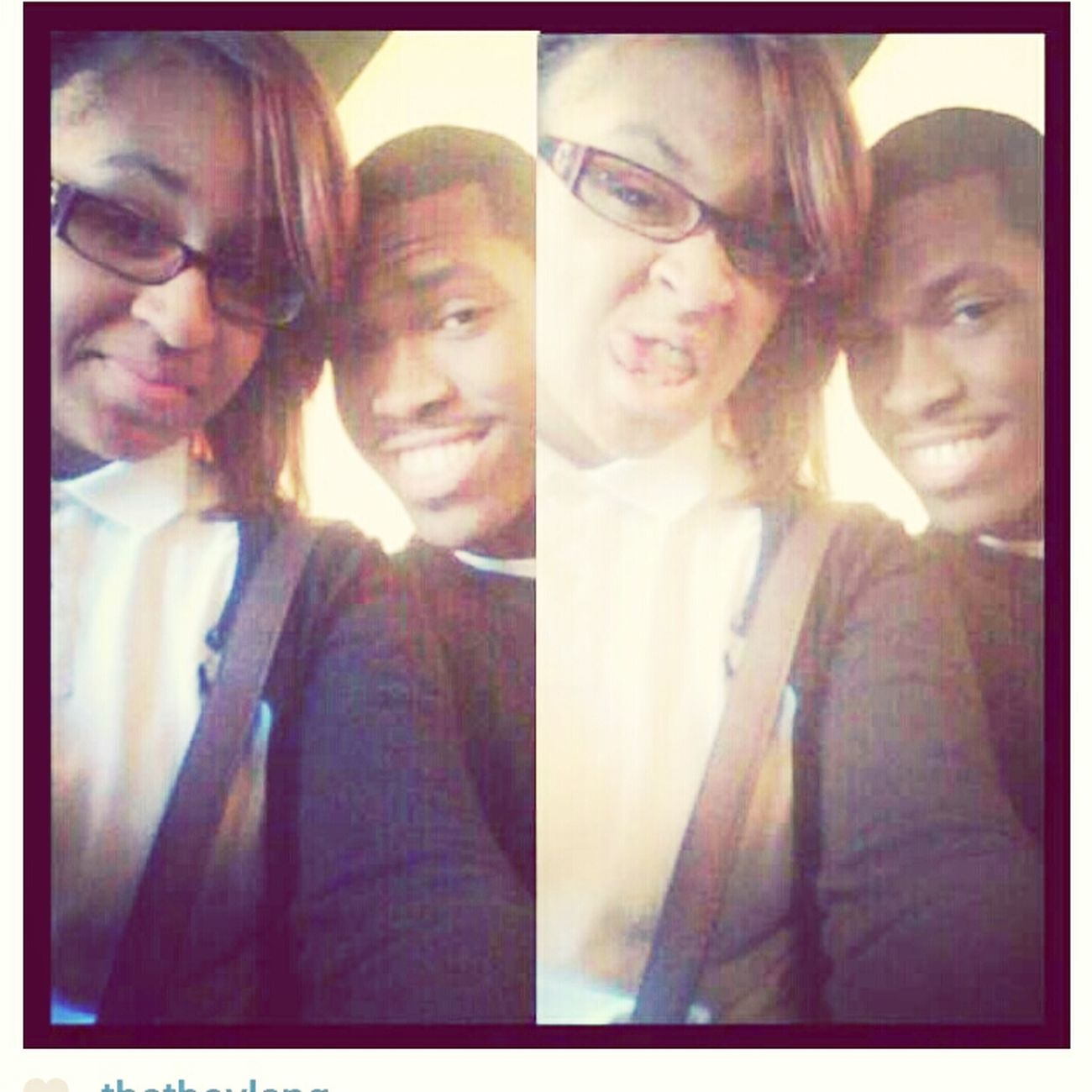 me and Dajsha at church