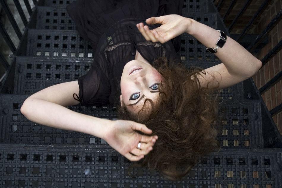 Beautiful stock photos of gothic, Beautiful Woman, Black, Blond Hair, Caucasian Ethnicity