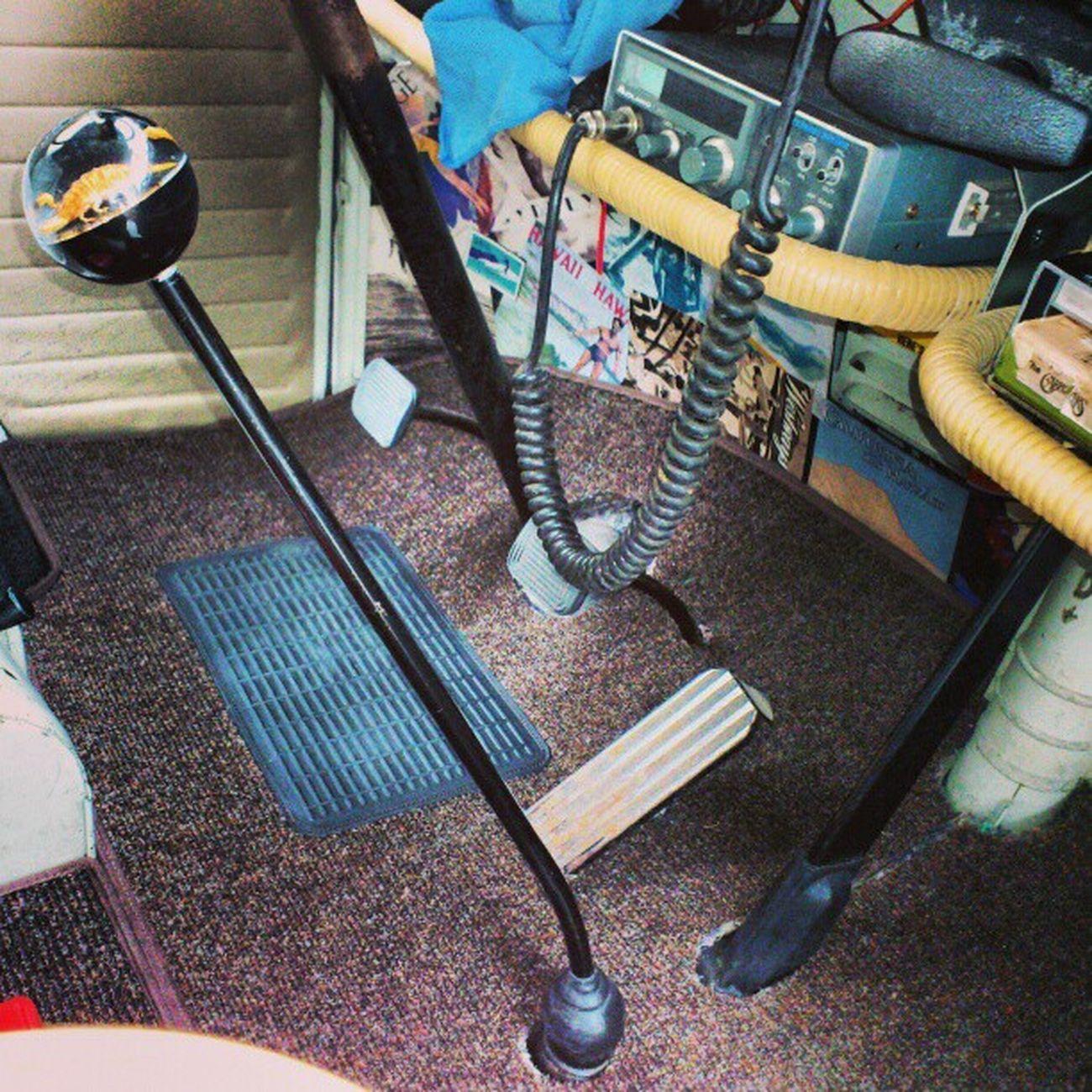 CB, 8 track, custom gear knob Cbradio Gearknob