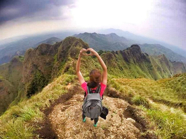 Who says it's lonely at the Top? It's breathtakingly gorgeous! Goprohero4 Goprophotograpy Wanderlust Mountain Climbing