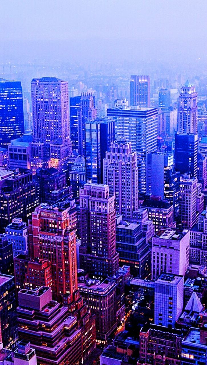 cityscape, architecture, skyscraper, building exterior, illuminated, modern, high angle view, aerial view, urban skyline, city, no people, outdoors, night, sky