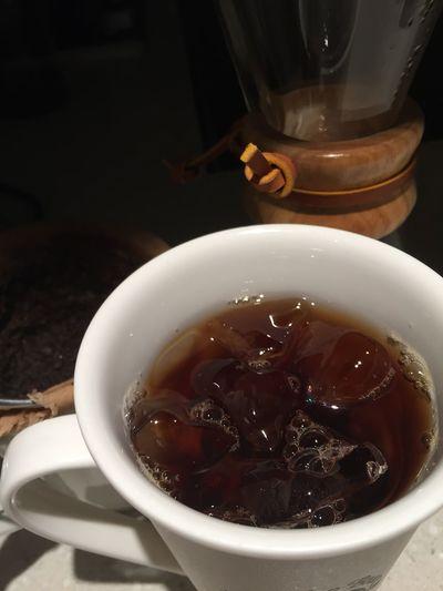 Iced Coffee Jamaican Blue Mountain Hand Drip Coffee 좋은 시간!!