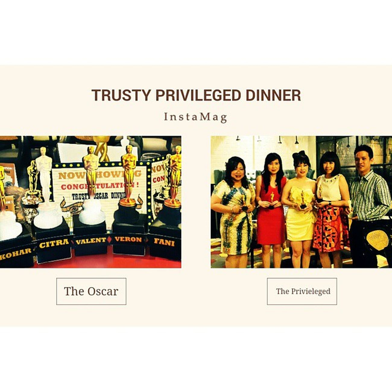 TrustyPrivilegedDinner TRUSTY Privileged AWARD Teamwork workstyle LifeStyle Traveller Photography 15 01 15