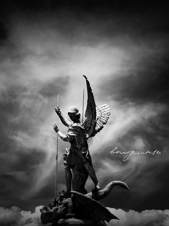 Angel Animals Archangel Borgiante Cloud - Sky Cloudy Mexico Mexico City Naucalpan Saintmichael Sanmiguel Sky Tranquility