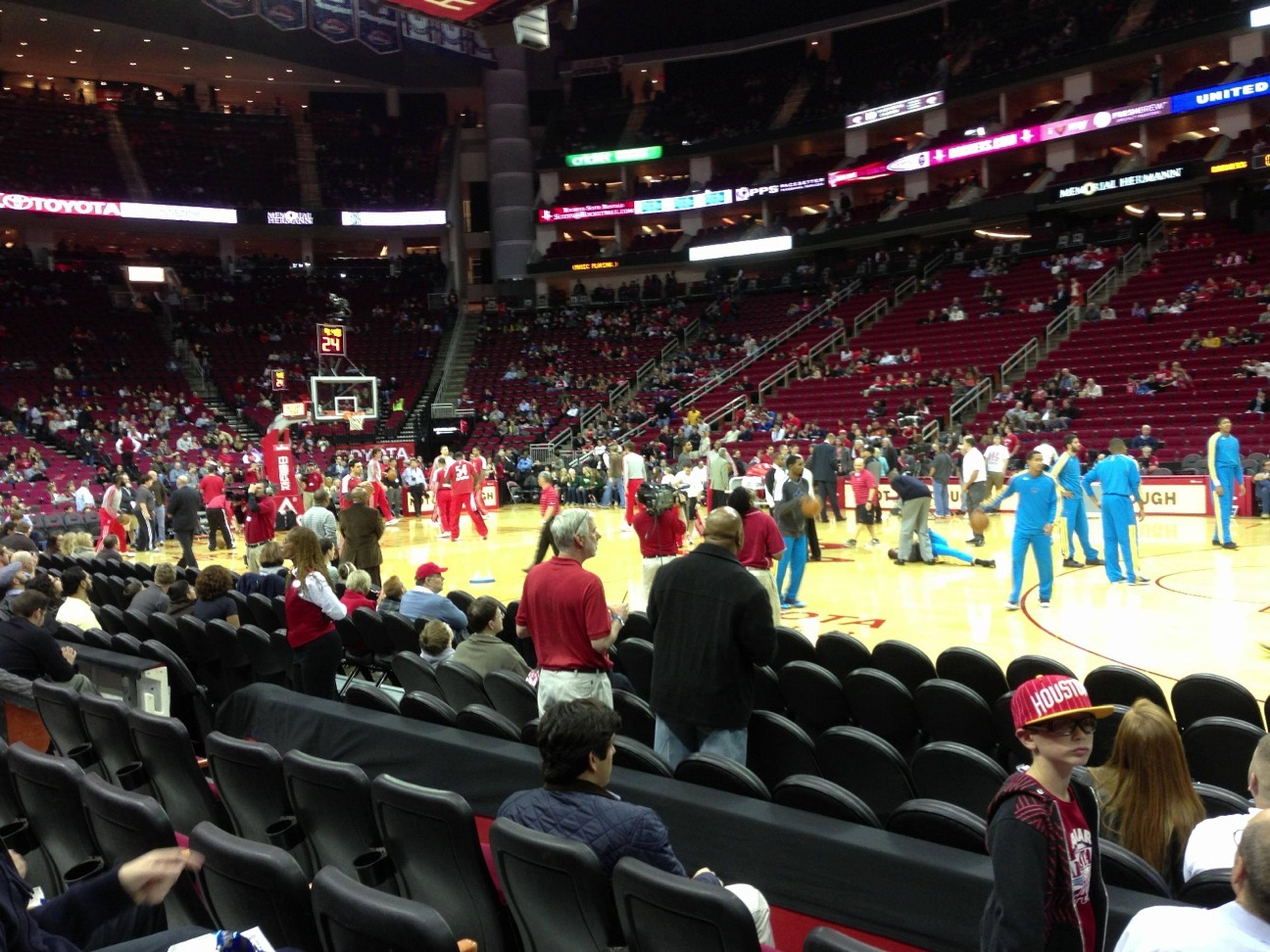 At The Houston Rockets