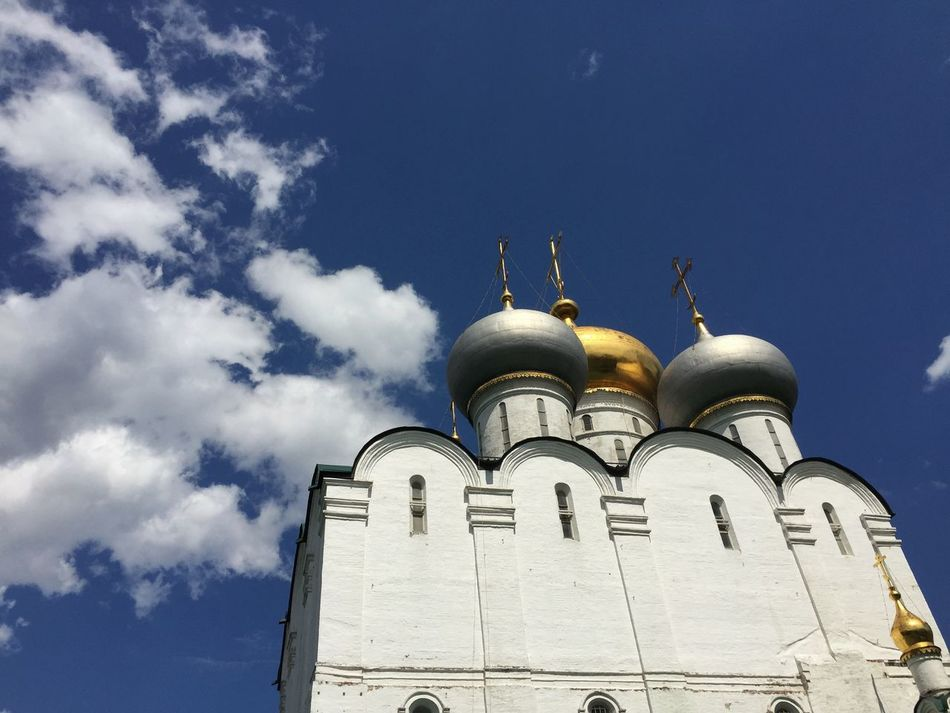 Smolensk Cathedral of Novodevichy Convent in Moscow Traveling Rus2015tc Church Architecture