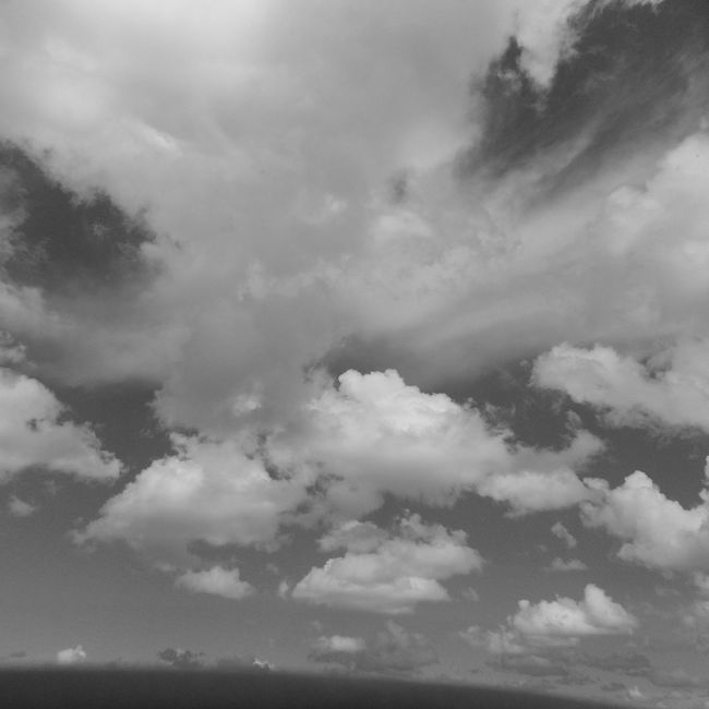 Sky Cloud - Sky Cloudscape Low Angle View Atmospheric Mood Cloudy Black & White Cloud Day Sky Tranquility Scenics Beauty In Nature Tranquil Scene Low Angle View Cloud - Sky Majestic Cloud Nature Cloudscape Day Outdoors Meteorology Blue JacksonvilleFL