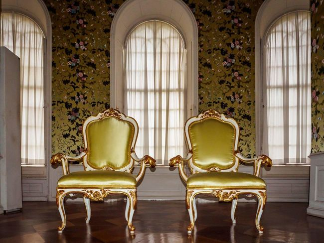 EyeEm Selects Window Chair Ornate Indoors  Luxury History Elégance Home Interior No People Antique Old-fashioned Living Room Architecture Royalty King - Royal Person Day Potsdam Potsdam Park Sanssouci Sanssouci Park Potsdam Park Sanssouci