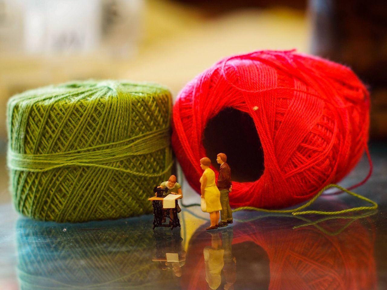 Tailor Art And Craft Focus On Foreground No People Indoors  Red Close-up Day Tailor Miniature Preiser Toys Art Is Everywhere Manual Lenses Creative Artphotography Creativity