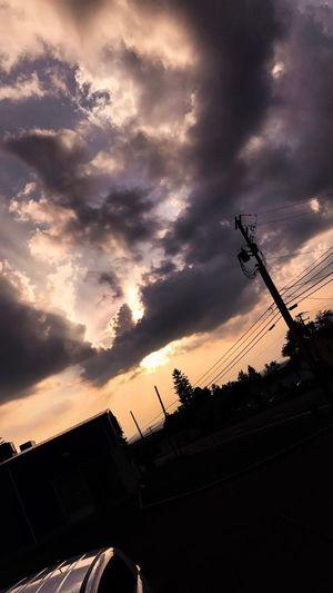 Sunset Sky Cloud - Sky Iphonephotography