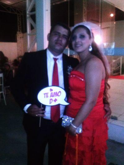 Casamento Padrinhos Vermelho Paixão Amor MeuMarrento CasamentodaIza