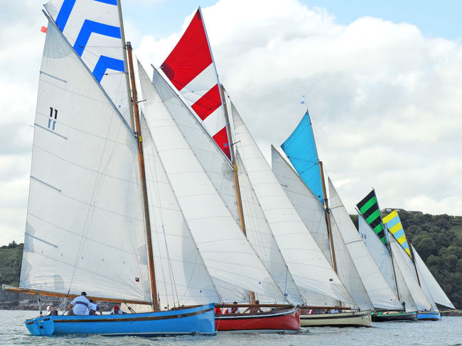 Competitive Sport Falmouth Falmouth Bay Falmouth Week Falmouth Working Baots Nautical Vessel Race Racing Regatta Sailboat Sailing Sea Sky Sports Race Water Working Boats Ya Yachts