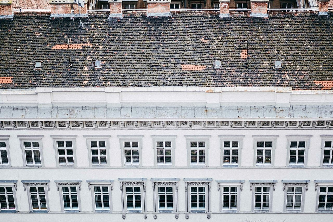 A Bird's Eye View Budapest Budapest, Hungary Budapest Love Architecture Building Exterior Built Structure Window City Outdoors Repetition No People Façade