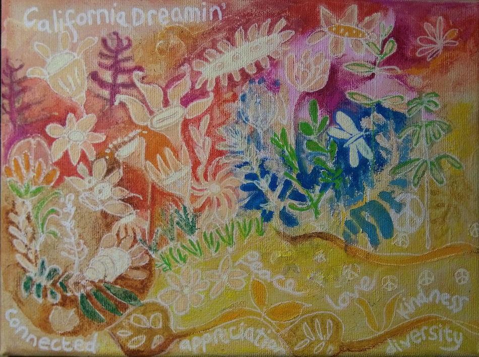 California Dreamin' Saturdaysong_eyeemchallenge Flower Power Love Appreciation Peace Heather Fifield Art Skwirrel Heaven What A Wonderful World It's A Wonderful Life Following My Bliss My Art Work Today Is A Really Good Day