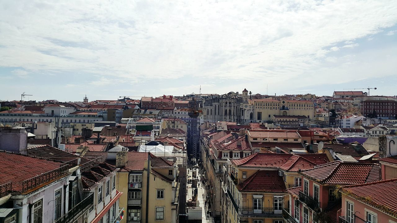 City of Lisbon seen from above City View  City Photography Eye4photography  Taking Photos Cityscapes Lisbon Panoramic View Panoramic Panoramic Photography Phtooftheday Citylife