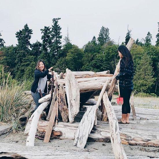 switching it up to some beach exploration || Weekend Whpforeveryoung SeattleLife Beach northwestadventure northwestisbest adventureisoutthere bainbridgeisland