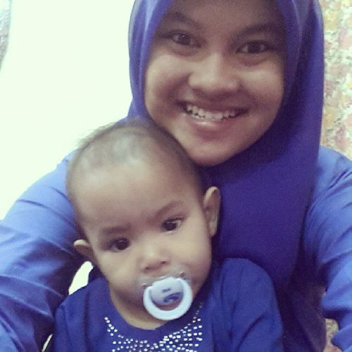 Thursday Rayawoiii 1family Blue colourgedikkcutegirltomeygegirlsibotakwithrajaainaarisya..