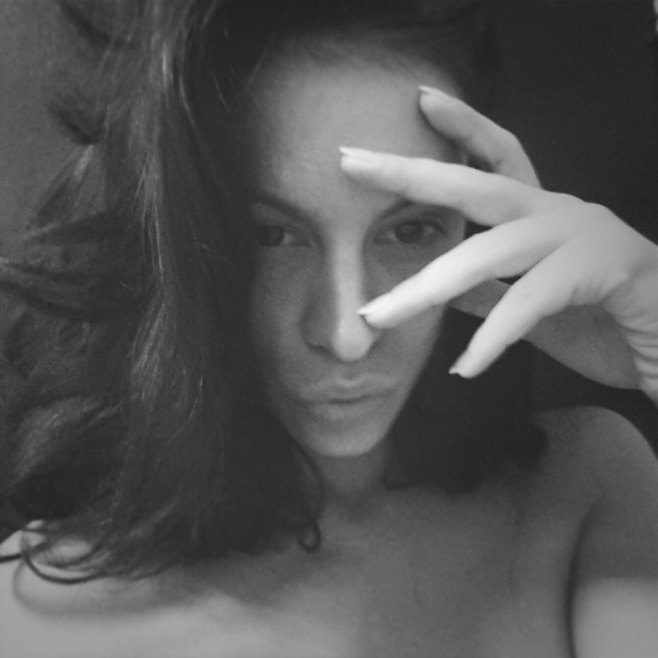 Blackandwhite Selfie