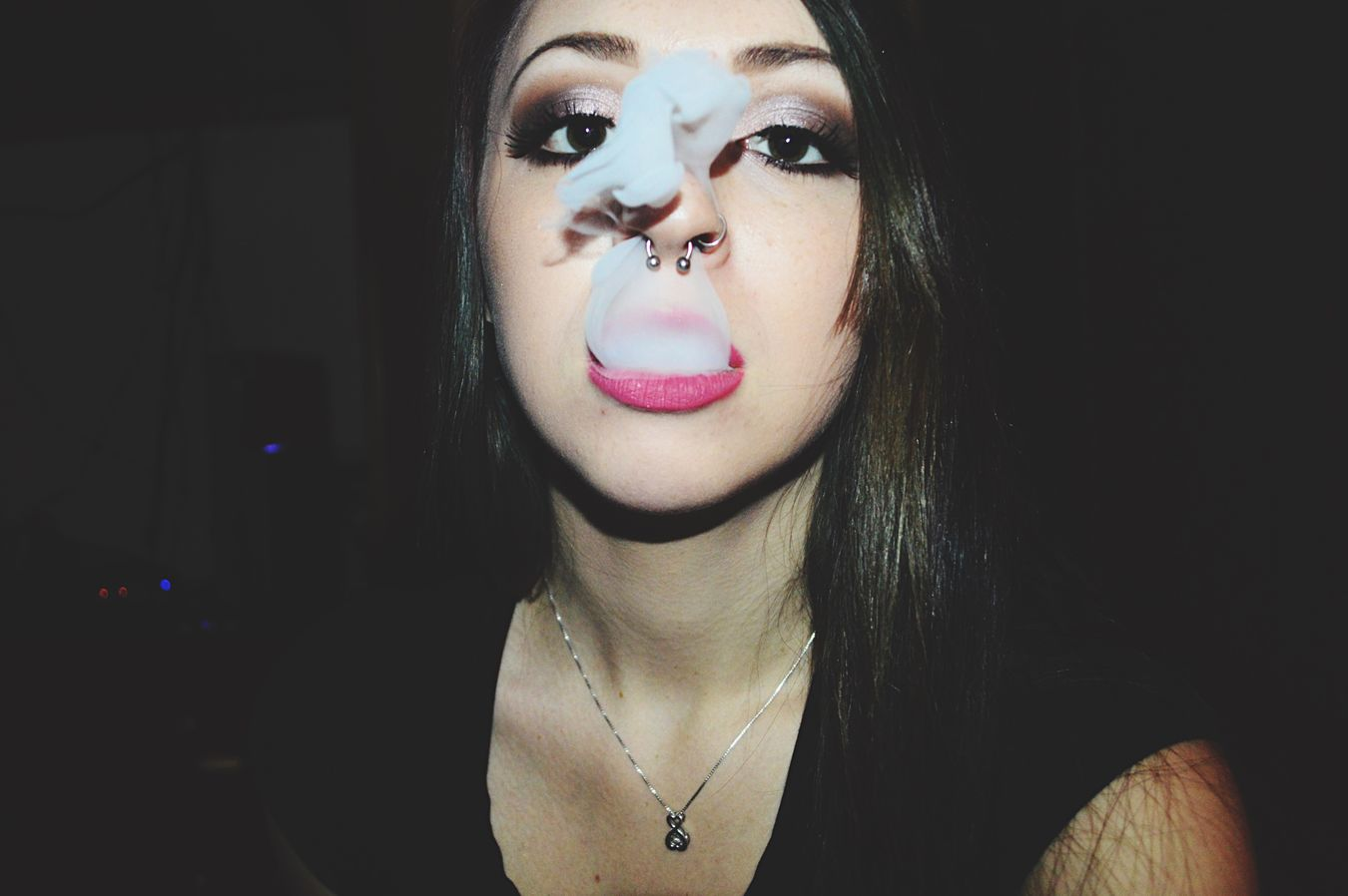 French Inhale ♥  Smoke Vape VapeLife Vapetricks