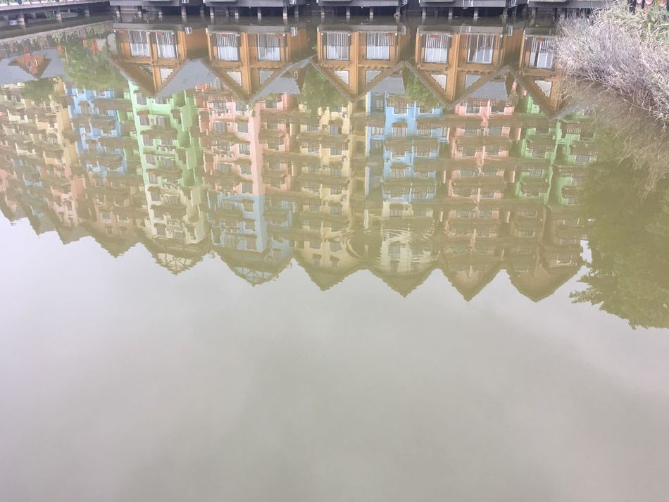 Reflection Building Exterior Architecture Waterfront Built Structure Water Outdoors Day No People Sky City