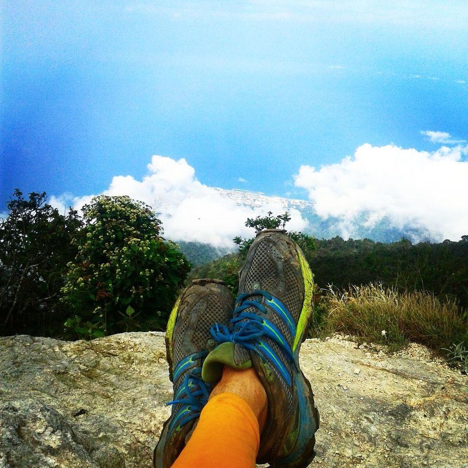 Avila Venezuela Lagunazo Lifestyles Low Section Nature Outdoors Shoe Sky Trialrunning