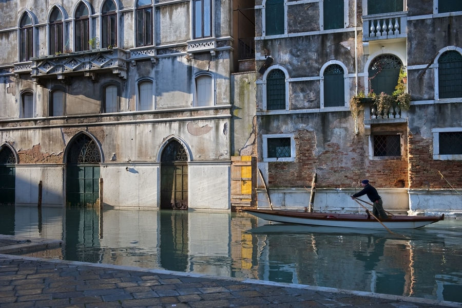 Venice, Italy, flood, Piazza San Marco, the Doge's Palace, San Giorgio, canals, gondolas, Architecture Boat Building Building Exterior Built Structure Canal Culture Day Exterior Façade Historic History Horizontal Symmetry House Moored Nautical Vessel Old Outdoors Residential Structure Window