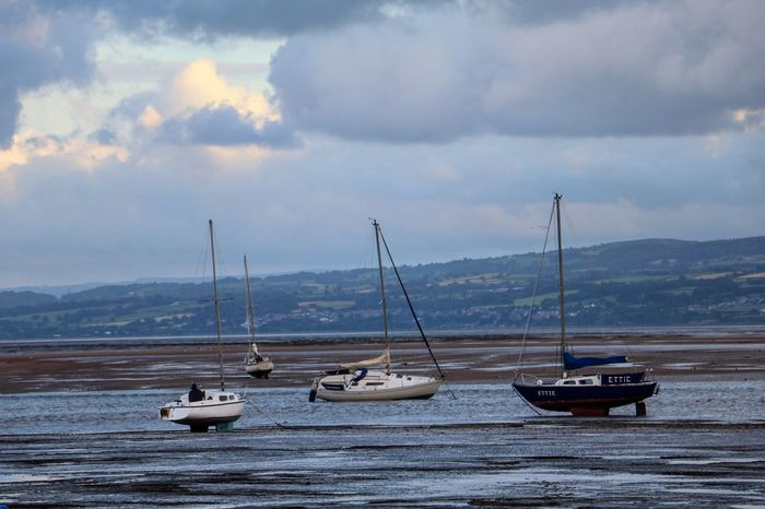 Calm England England🇬🇧 Mudflat Mudflats Nature Sailboat Scenics Sea Tranquil Scene Tranquility Water Waterfront Wirralcountrypark
