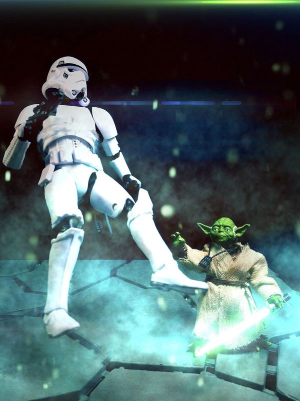 """""""A Jedi uses the Force for knowledge and defense, never for attack."""" Starwarstheblackseries StarWars6inch Starwarstoyfigs TBSFF OneBigGiveaway Starwarsblackseries HasbroStarWars HasbroToyPic Starwars Yoda Jedimaster Jedi"""