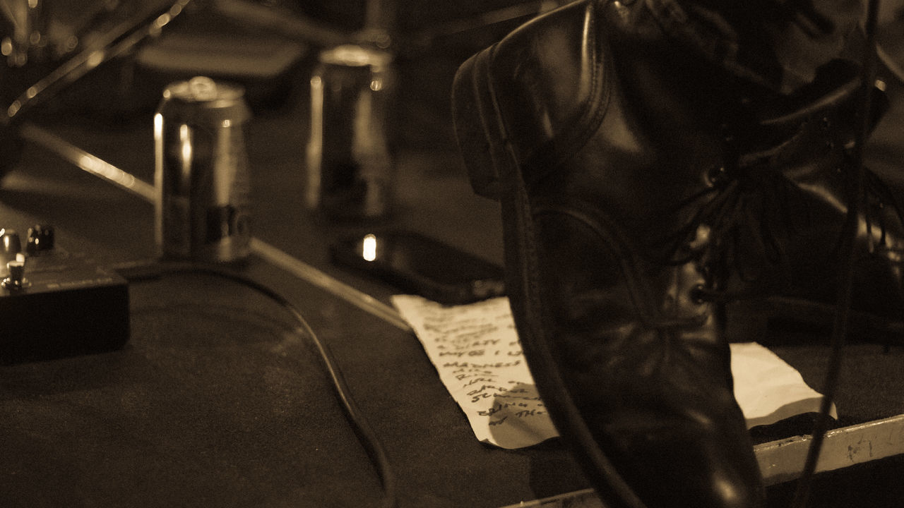 Close-up Indoors  No People Toronto Musician Music Concert Photography Concert Band RockandRoll Nightlife Indoors  Setlist Snapshoot Setlist Boots Beer Rocknroll