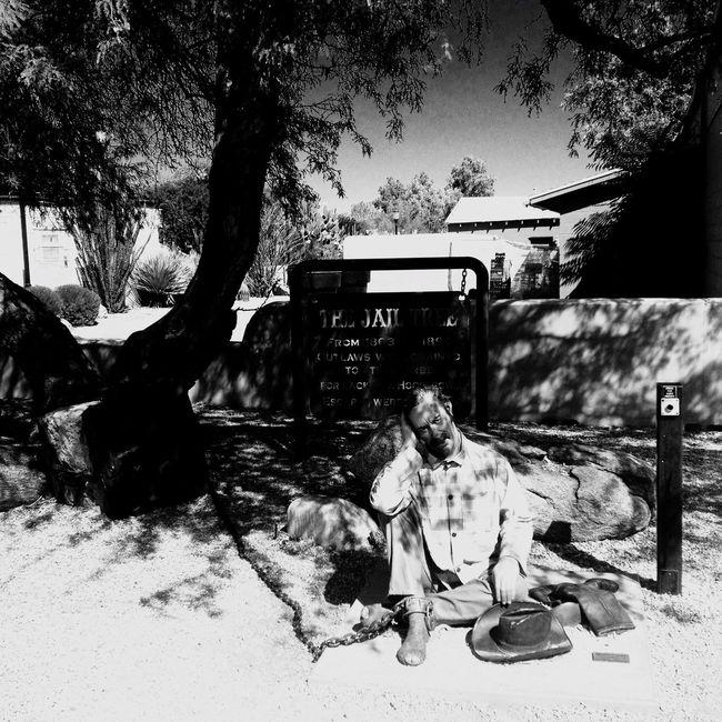 QVHoughPhoto Arizona Wickenburg Jail Blackandwhite IPhoneography IPhone4s
