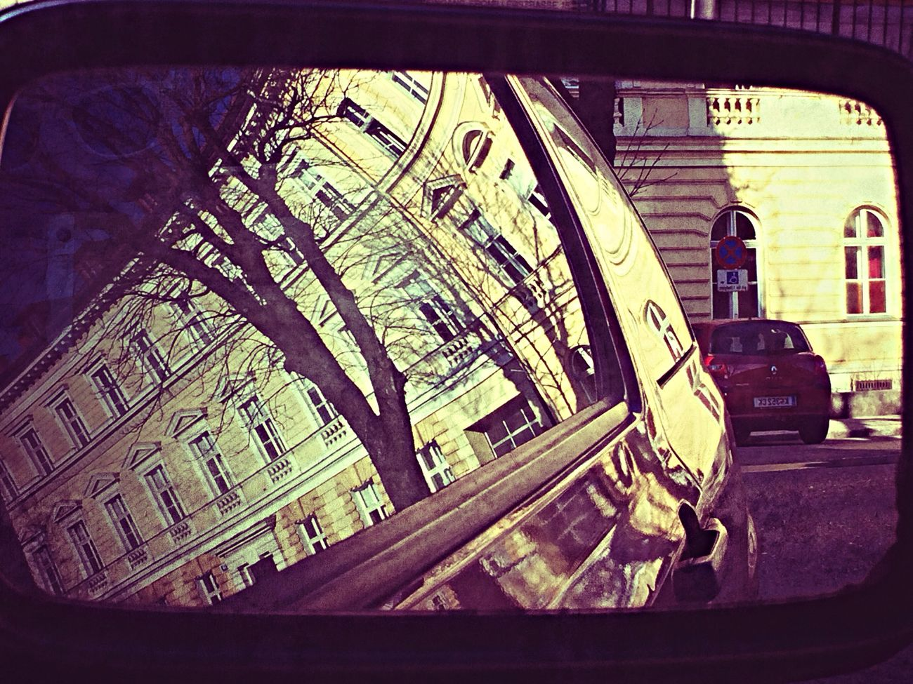 City Reflection Taking Photos Check This Out