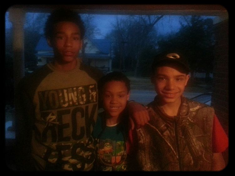 me and my lil bros