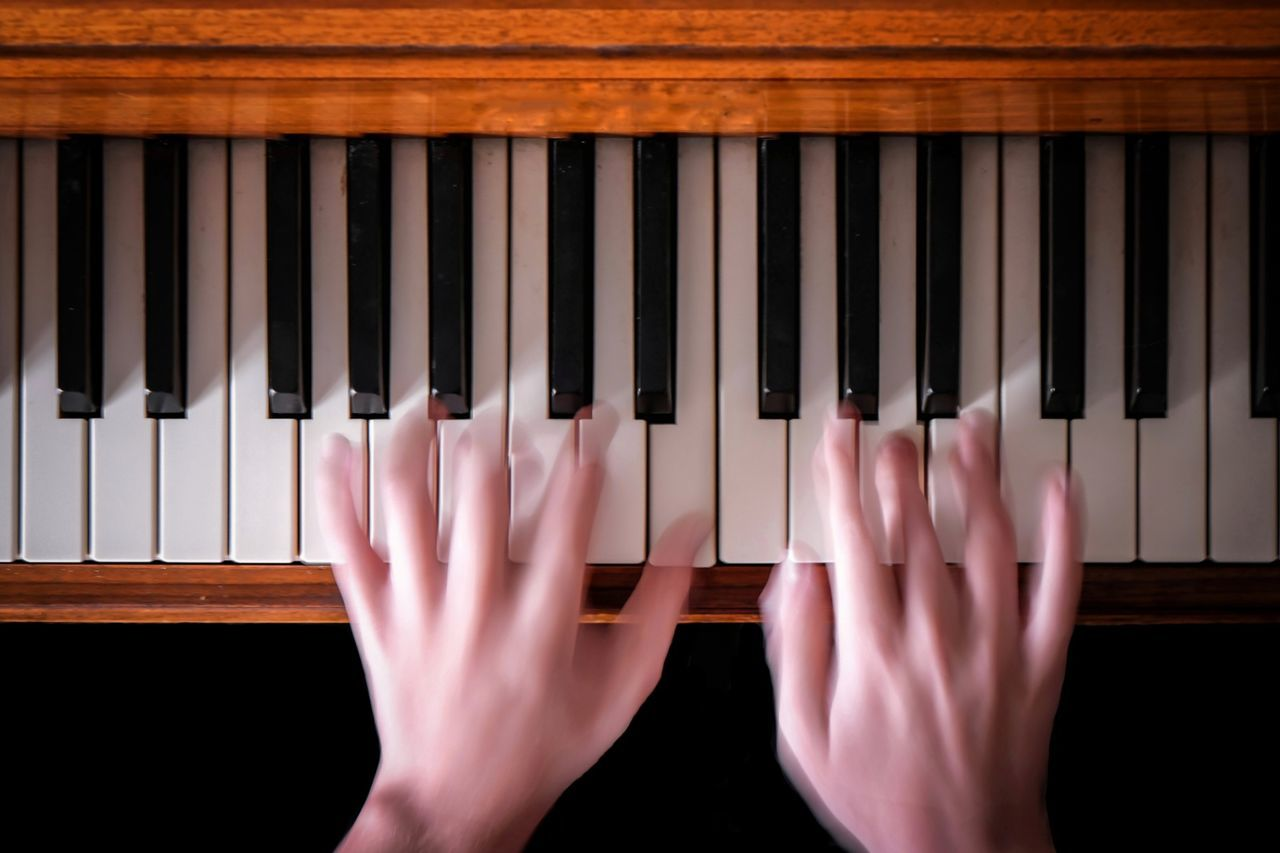Music Piano Human Body Part Human Hand Indoors  Performance Close-up People Musical Instrument Performing Arts Event One Person Arts Culture And Entertainment Hands Hands At Work Music Musician TakeoverMusic