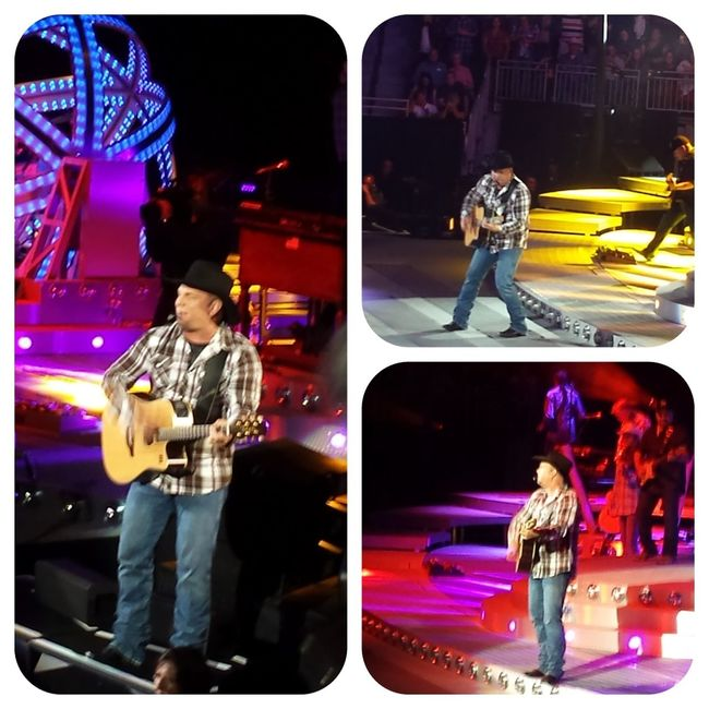 The Purist (no Edit, No Filter) Concert Garthbrooks Collage