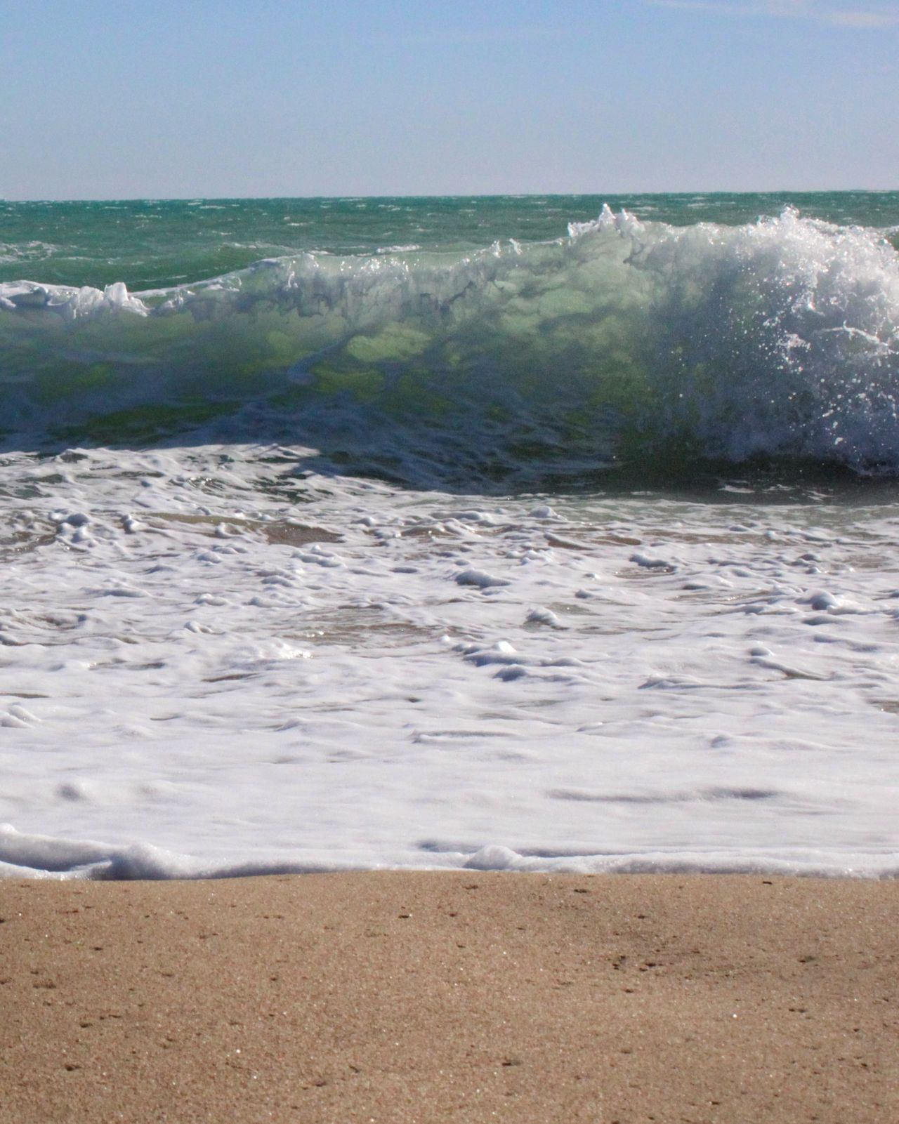 Beach Water Sand Sea Wave Nature No People Horizon Over Water Outdoors Beauty In Nature Blue Day Travel Destinations Scenics Sky Water Surface Nature_collection Sicily Landscape Beauty In Nature Wave Sunlight Power In Nature Freshness