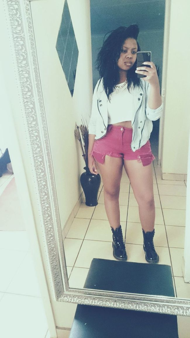 Rock Star Outfit #OOTD Im Doin Me No Make Up ❤ Badgal Hello World