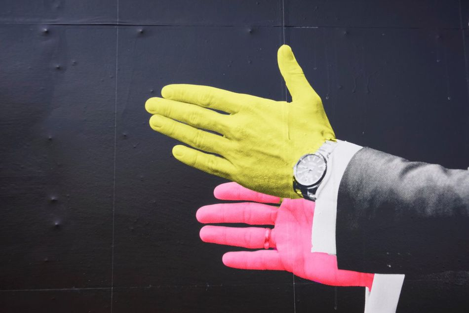Human Hand Human Body Part Cleaning Washing Up Glove Protective Glove Hygiene One Person Cleaning Equipment Real People Close-up Outdoors Day People