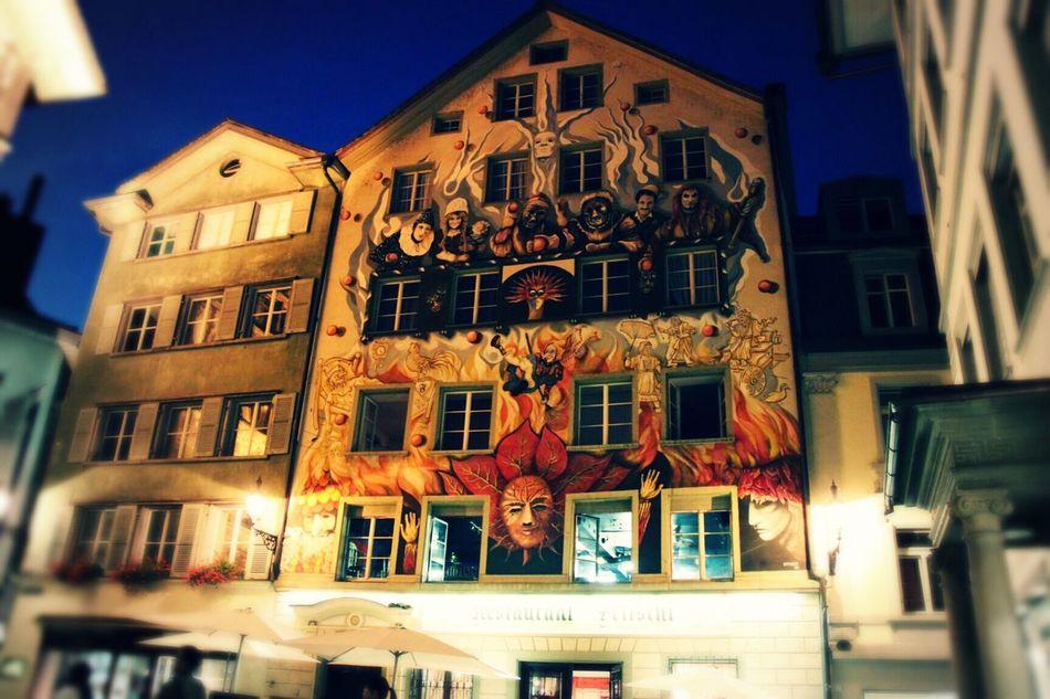 Somewhere in Europe Swiss Luzern