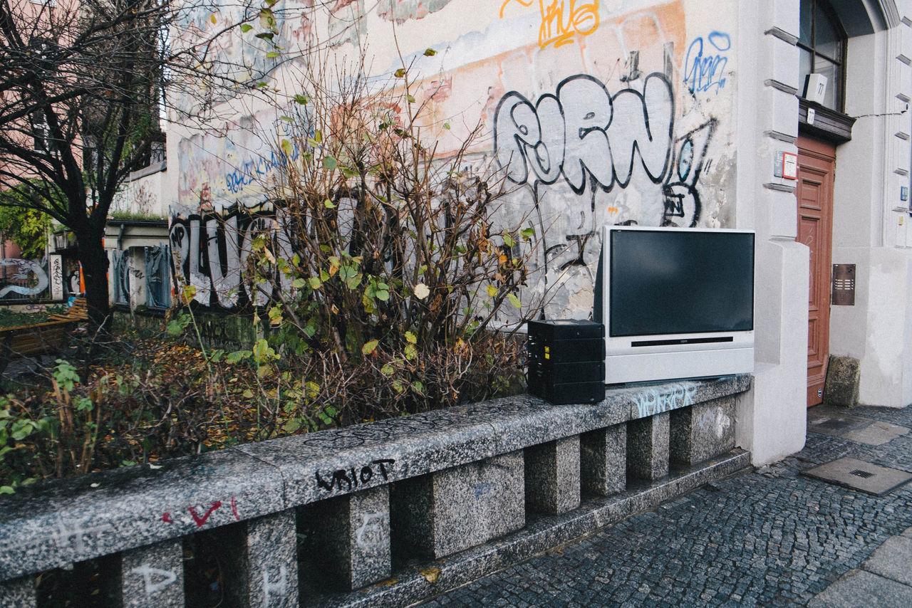 Beautiful stock photos of television, Barriers, Bush, Careless, Damage