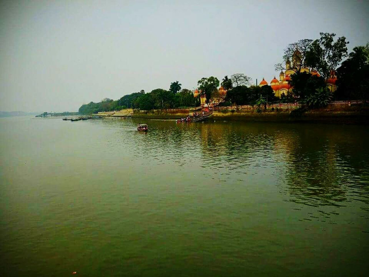 Dakkhineswar Kali Temple ghat at the shores of Holy River Ganges! - Pritam Majumder Outdoors Nature Water
