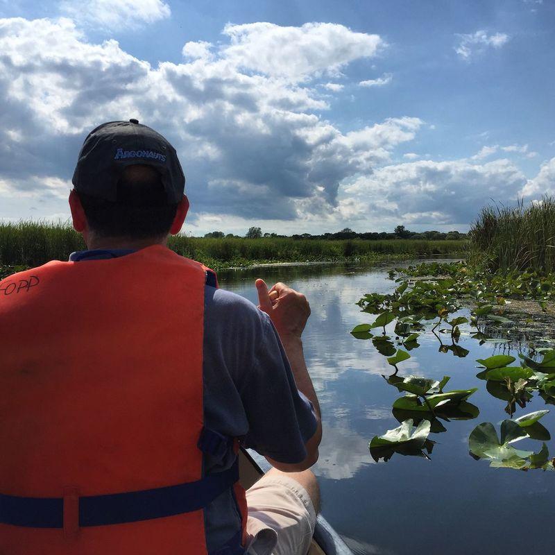 Canoeing in the Marsh