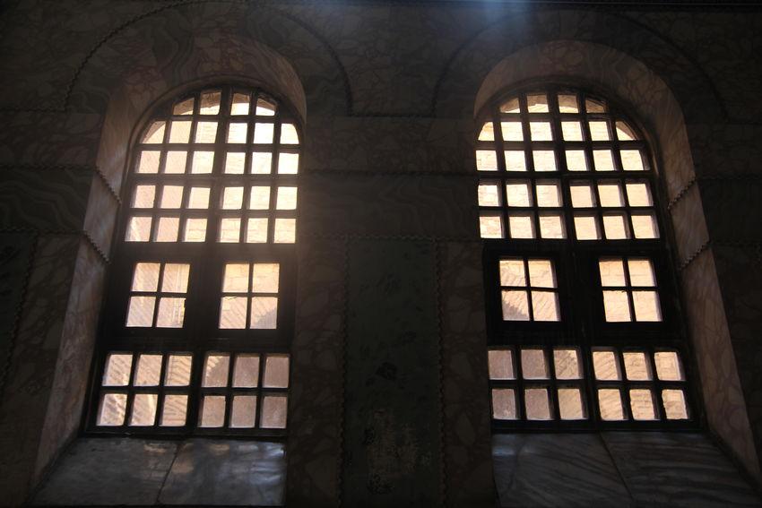 Architecture Built Structure Dark Geometric Shape Historic No People Window