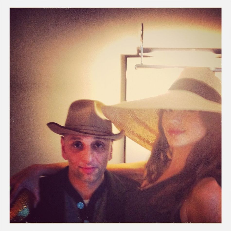My Model & I. Photo Shoot for Lock & Co Hatters. S/S 2013.